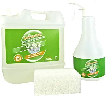 HiGloss - Gel de limpieza (superconcentrado 2 L): Amazon.es: Hogar
