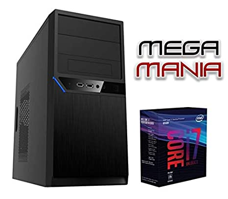 Megamania Ordenador SOBREMESA Intel Core i7 up 3.8Ghz x 4 Cores ...