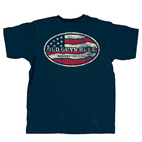 Old Guys Rule Men's Patriotic Born In U.S.A. (Throwing Warm Up S)