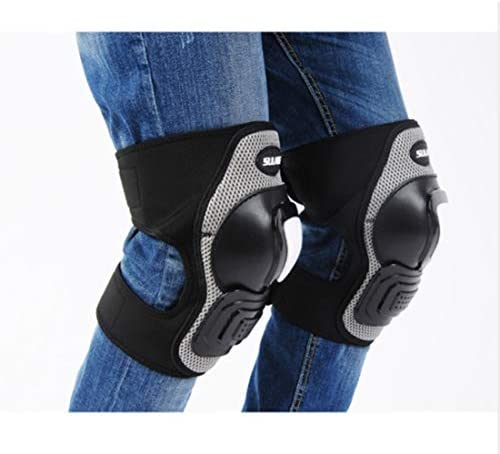 LilyAngel オートバイの膝パッド大人の通気性調節可能なアラミド繊維モトクロスMTB新ガードサイクリングスケーティングスキー (Color : Picture color)