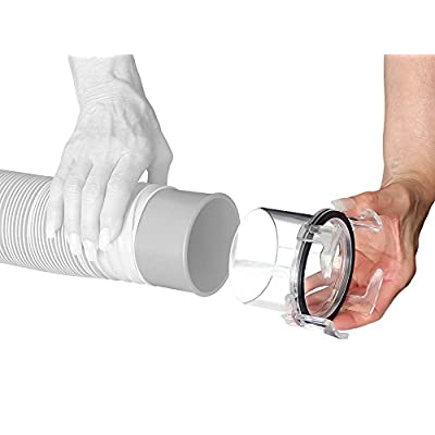 Prest-O-Fit 1-0008 Universal Sewer Hose Adapter - Clear: Automotive