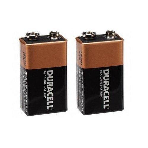 duracell alkaline 9v battery pack of 2 mn1604 new free. Black Bedroom Furniture Sets. Home Design Ideas