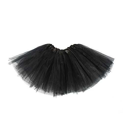 belababy Tutu Skirt for Girls 5 Layers Tulle Tutu 2-8T -