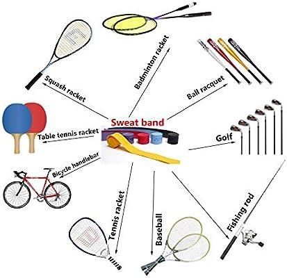 Tenis Overgrip cintas, absorbe la humedad y antideslizante grips ...