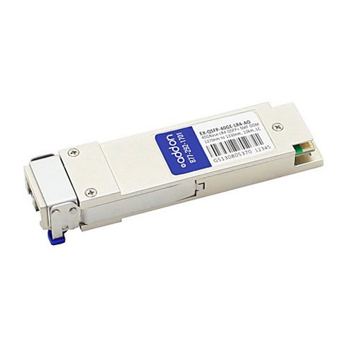 Image of AddOn Cisco QSFP-40GE-LR4 Compatible TAA Compliant 40GBase-LR4 QSFP+ Transceiver (SMF, 1270nm to 13