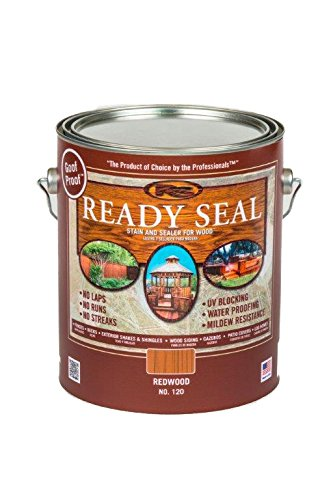 lon Can Redwood Exterior Wood Stain and Sealer ()