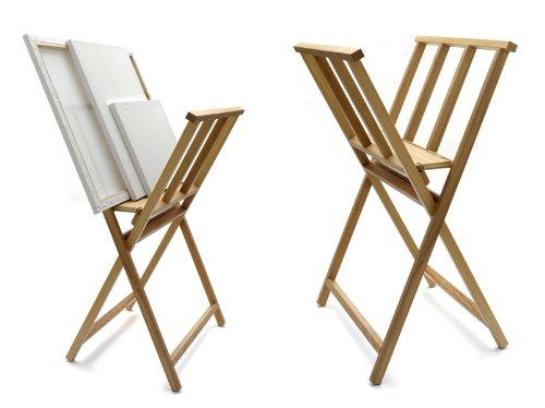 Artina Bilderwippe Bilderständer aus Buchenholz klappbarer Grafik-Ständer 65 x 48 x 71cm