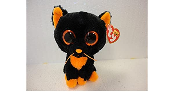 d52b6d00b9c Amazon.com  Ty Beanie Boos Moonlight - Black Cat by Ty Beanie Boos  Toys    Games