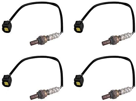 Set of 4 Oxygen O2 Sensor Upstream /& Downstream for 2004-2007 Dodge Ram Magnum Charger Jeep Commander Liberty Chrysler 300 Mitsubishi # 56028994AA 56028994AB 05149170AA OS5249