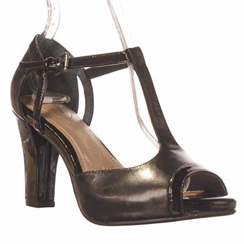 Giani Bernini - Sandalias de vestir para mujer negro