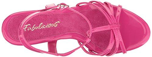 Fabulicious FLAIR-420 Damen Sandalette, Lack Hot Pink, EU 40 (US 10)