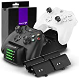 Fosmon Xbox One Quad PRO Controller Charger with
