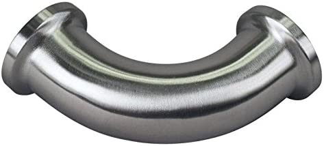 Glacier Tanks Stainless Steel SS304 // 3A 90 Degree Elbow Tri Clamp 3//4 inch