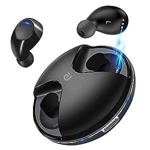 Wireless Earbuds,Kissral Bluetooth 5.0 True Wireless Earbuds 15H Playtime Deep Bass HD Sound Bluetooth Headphones Built…