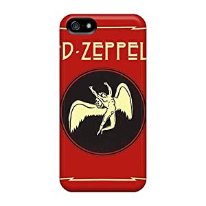 For Iphone 5/5s Protector Case Led Zeppelin Apollo Phone Cover