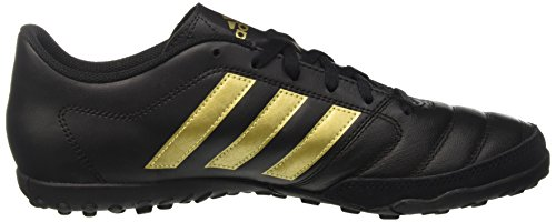adidas Herren Gloro 16.2 TF Fußball-Trainingsschuhe Schwarz (Core Black/Gold Metallic/Core Black)