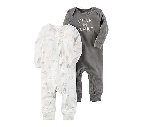 Carter's Baby 2-Pack Elephant Coveralls 3 Months