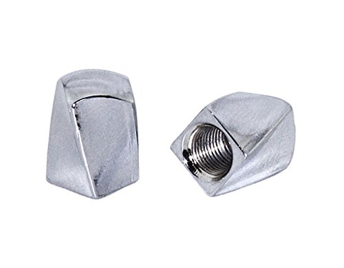 Lowrider TWISTED BIKE BICYCLE VALVE CAP CHROME. Schrader/Valve. bike part, bicycle part, bike accessory, bicycle accessory