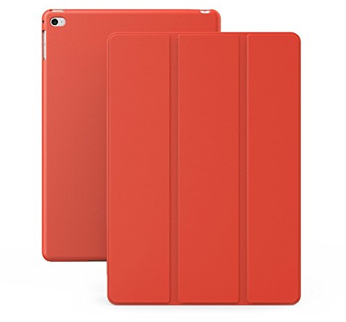 (KHOMO iPad Mini 4 Case - Dual Series - Ultra Slim Red Cover with Auto Sleep Wake Feature for Apple iPad Mini 4th Generation Tablet)