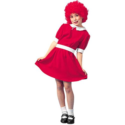 [Child's Red Orphan Costume (Size:Large 12-14)] (Annie Costumes For Kids)