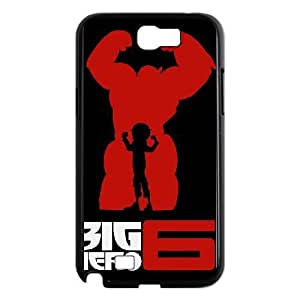 SamSung Galaxy Note2 7100 cell phone cases Black Big Hero 6 fashion phone cases YEH0723020