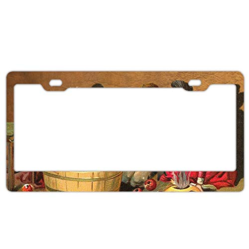 SUJQNGC 6x12 Inches Home and Bar Wall Decor Car Vehicle License Plate Halloween Child ()