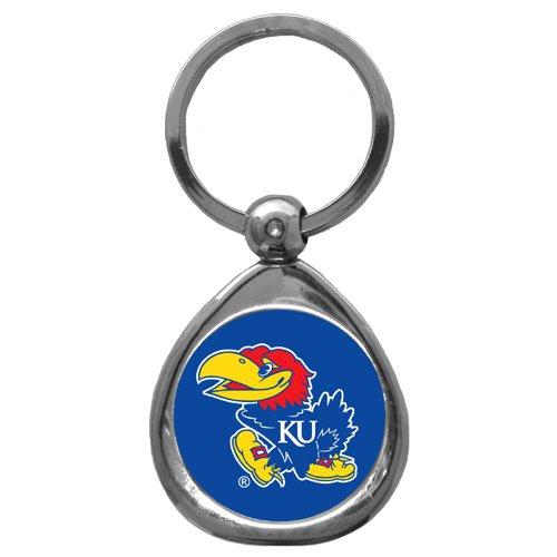 NCAA Kansas Jayhawks Chrome Key Chain - Kansas Jayhawks Gear