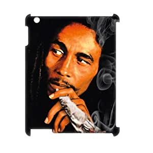 C-EUR Bob Marley Pattern 3D Case for iPad 2,3,4