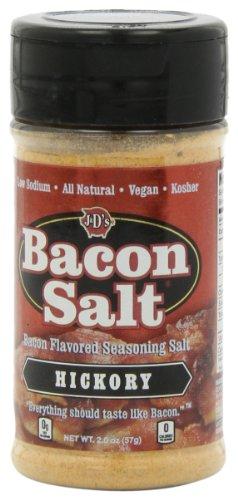 Baconnaise Bacon - J&D's Bacon Salt, Hickory, 2 Ounce (Pack of 3)