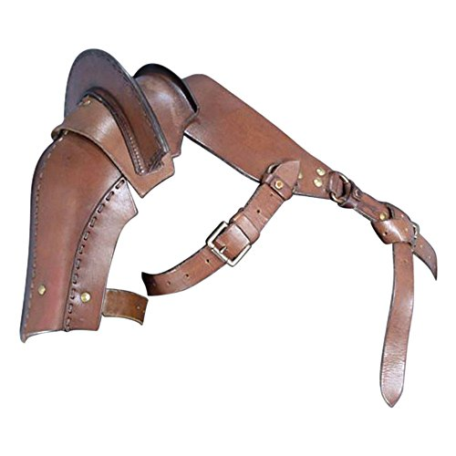 - Armor Venue: Warriors Single Pauldron Leather Shoulder Armor Brown Large