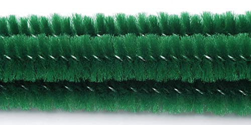 Darice Chenille Stems 6mm 12 25//Pkg-Emerald Green