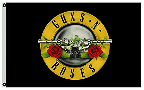 Annfly Guns N' Roses Flag 3X5FT Banner