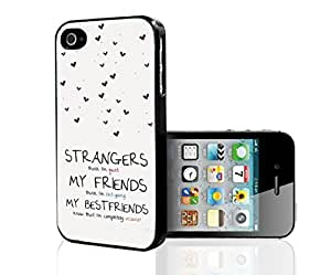 Best Friend Quote Hard Snap on Phone Case (iPhone 5/5s)