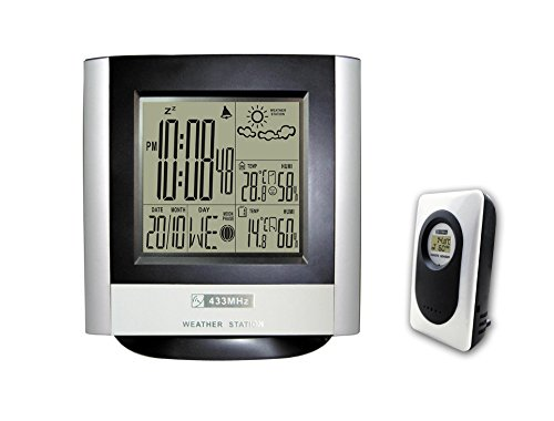 DYKIE Wireless Weather Station,Digital Weather Alarm Cloc...