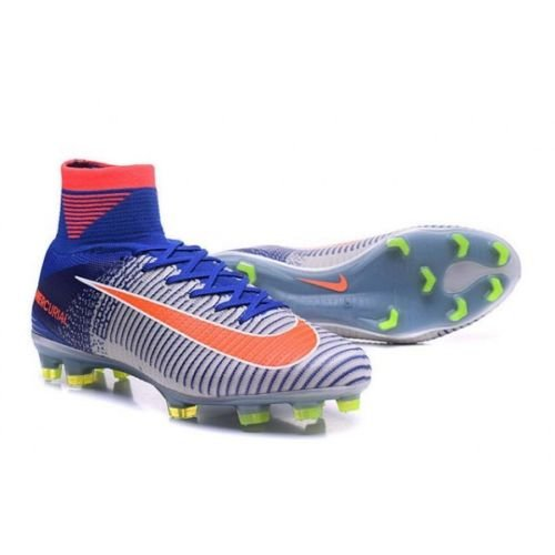 official photos 2adca 9b345 Nike Mercurial Superfly FG Acc Bright Crimson Racer Blue 844227-464 Size 8  US (8, White Bright Crimson Racer Blue)  Amazon.ca  Shoes   Handbags