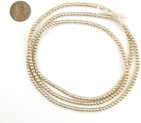 Iron Round Spacer Beads 3 mm Dark Silver 600 pcs Art Hobby À faire soi-même Fabrication De Bijoux