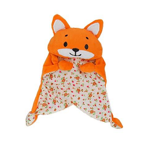 - Soft Orange Tiger Toddler Comforter | Neutral Bedtime Calm Toy for Kid Baby (Tiger)