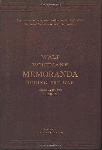 recount as an example of memorandum