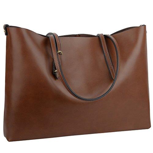 YALUXE Womens Vintage Leather Shoulder