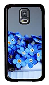 Myosotis Sylvatica Black Hard Case Cover Skin For Samsung Galaxy S5 I9600