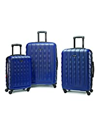 Samsonite 64621-1439 ZIPLITE 2.0 3-Piece Nested Set, Indigo Blue, Checked – Large