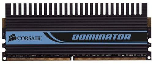 - Corsair TWIN2X4096-8500C5D Dominator 4GB 2 X 2GB PC2-8500 1066MHz 240-Pin DDR2 CL5 Dual Channel Desktop Memory