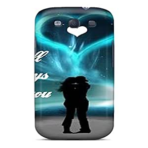 Fashionable Style Cases Covers Skin For Galaxy S3- Black Friday