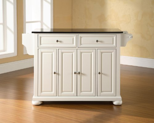 Crosley Furniture Alexandria Kitchen Granite Features