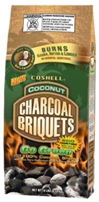 Coshell Holdings COSR18 Green Charcoal Briquettes, 18-Lb.