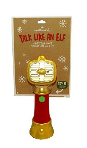 Hallmark Talk Like an Elf Christmas Novelty Toy]()