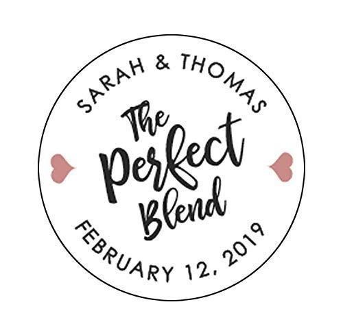 Wedding Coffee Blend Perfect Favors - The Perfect Blend Wedding Stickers Wedding Favor Stickers Perfect Blend Stickers Coffee Favor Wedding Labels Wedding Stickers for Favors F11:32