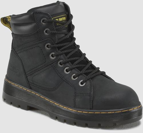 Dr. Martens Men's Duct ST Black Boot 12 M UK, ()
