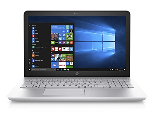 HP Pavilion 15-inch Laptop, Intel Core i7-7500U, 12GB RAM, 1TB hard drive, Windows 10 (15-cc020nr, Silver)