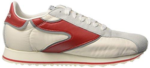 Walsh Vripple Sport Nylon, Scarpe da Basket Uomo Multicolore (White/Red)